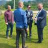 Ministar Arnel Isak, zajedno sa saradnicima obišao regionalne ceste na području Zavidovića