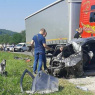 Dvije osobe poginule u teškom sudaru tri vozila kod Žepča